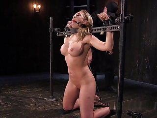 Huge Interior Bdsm Slave Fucks Sybian