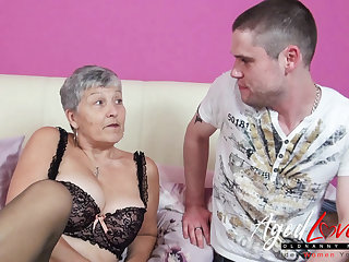AgedLovE Mature Lady On the run Fucks Horny Sweetheart