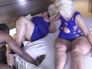 BBW coupled with Step Mom Welcome Home Step Dad