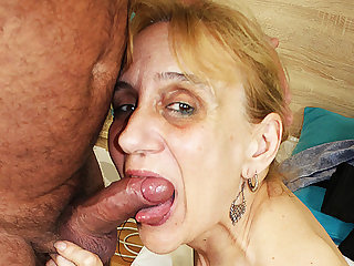 ugly 84 ripen old nurturer deep fucked