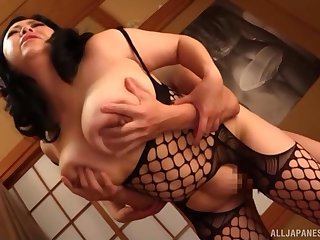 Exclusive Asian porn just about a chubby ass Japanese woman
