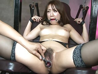 Asian floozy endures upstairs just a simple maledom