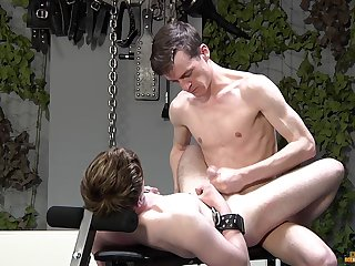 Twinks love the rough anal and the merciless BDSM