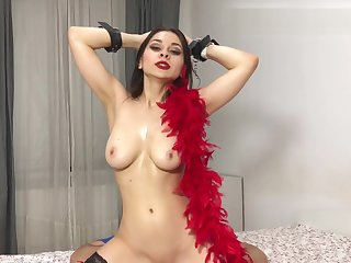 sexy showgirl legal tender lips ride on my dick