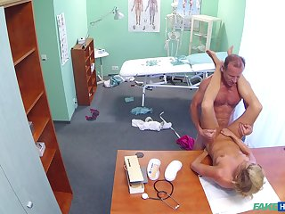Inspection hours medical exam leads relative to hot babe object dicked hard wits her sawbones