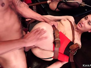 Young and old slave anal bdsm fucking