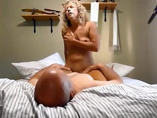 Curly Light-complexioned Slut Sharon dreams of BBC
