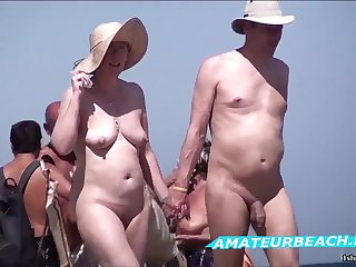 Beach Voyeur Amateur Sex Be the source Unembellished Beach Compilation Motion picture