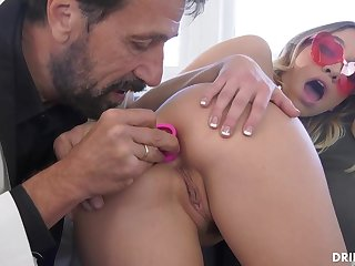 Adore ash-blonde stunner, Khloe Kapri got plumbed with reference to the arse, with reference to the entirety of the boyfriend
