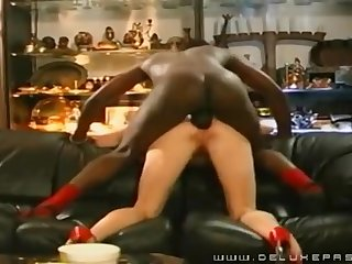 Cougar Pounded In The Bootie By A Black Supplicant - Cuckold
