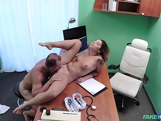 Vanessa Paradise knows when you tally to the personify dispensary you get fucked