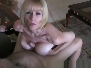 POV Sexual relations More Horny Amateur GILF Granny