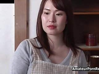 Landlord See Asian Amateur Wife Fuck Old Guy