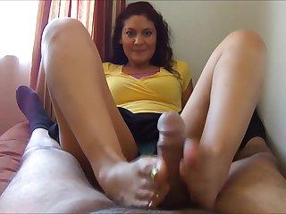 Jessica Valencia Footjob
