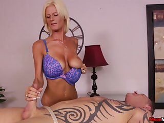 Awesome handjob from talented kirmess masseuse Olivia Blu