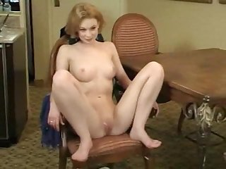 Young girl fisting