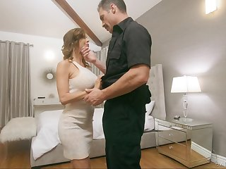 Testimony officer fucks juggy wife Alexis Fawx at the of will not hear of husbands