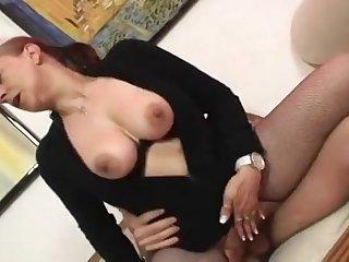 Chubby mom Tina Monti gets fucked hard