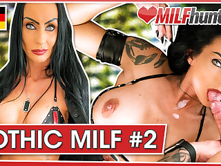 MILF Hunter feeds Science fiction Sidney Dark cum! milfhunter24.com