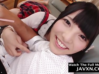 Beautiful, Asian schoolgirl is gender her step- father better than any in rotation unladylike with an increment of enjoying it