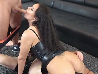 German amateur milf seduced with creampie