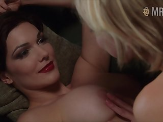 Attractive hot descendant Naomi Watts in kinda dewy lesbian erotic video