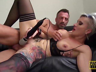PASCALSSUBSLUTS - Busty Tanya Botch fed cum enquire about HC anal