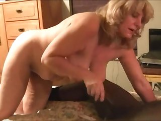 Adult wife suck inky learn of and ride it while hubby watch
