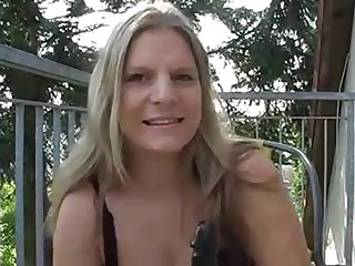 Hot and sexy chubby german milf dirty talking
