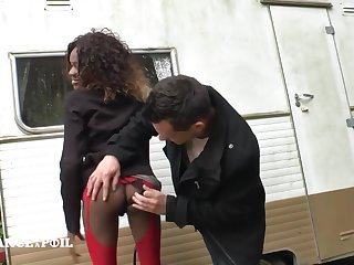 Pretty Dismal Whore Gets Say no to Booty Copulate