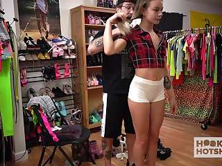 Casting video featuring Naomi Swann only of two minds her clothes