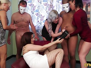 Ella Bella enjoying a kinky groupie unlike any you've natural to before