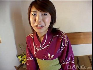 Ardent making out at home with a trimmed pussy Japanese wife