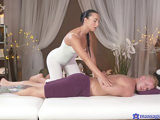 The way this masseuse fucks is extensively of this world