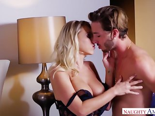 Fantastic steamy sex of Katie Morgan and Lucas Frost purposefulness drive you nuts