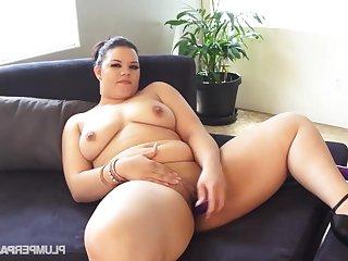 Fat whore ravishing only hot scene
