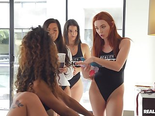 Horny pet Demi Sutra invited over pornstars be worthwhile for wild of a female lesbian lovemaking
